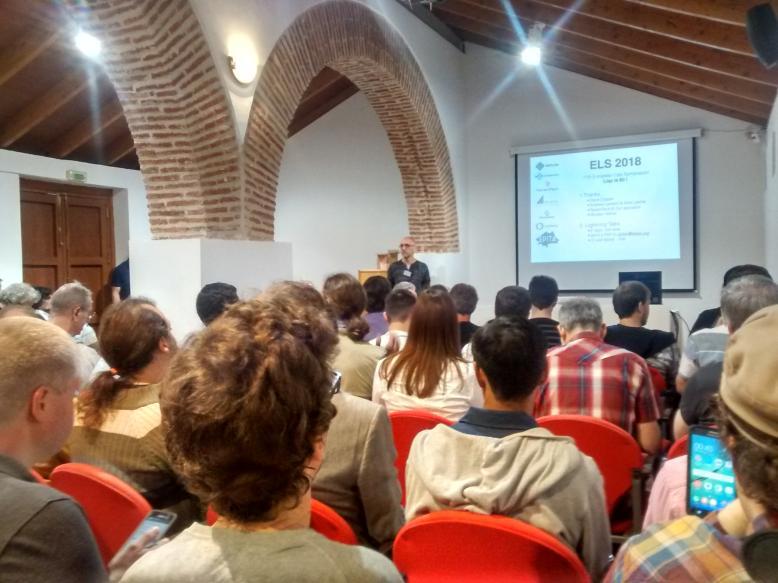 2018 European Lisp Symposium opening